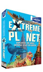 Not For Parents: Extreme Planet. << Follow up to the best-selling Not-For-Parents Travel Book, Extreme planet is a whirlwind tour of the globe, seeking out the highest, deepest, widest, narrowest, coolest, hottest, scariest, smelliest... things on the planet. What's the longest place name? The oldest fossil? Most Treacherous road in the world and why? Most dangerous food to eat? Scariest place to stand because you're most likely to be struck by lightning? It's all here!