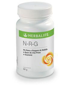 N.R.G em tabletes e em pó: Pó para preparo de bebida à base de chá preto e guaraná, NRG é um produto à base de guaraná, planta conhecida como ótima fonte de cafeína. Em tabletes ou em pó, o NRG é destinado a pessoas que buscam produtos saudáveis e sem calorias. Por que consumir? Uma porção de NRG em pó (1 g) contém 40 mg de cafeína, Possui delicioso sabor cítrico, Não contém calorias ou açúcar. Saiba mais: http://focoemvidasaudavel.blogspot.com