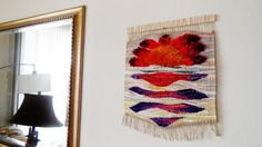 Woven Tapestry...Hand Woven Wall Hanging...Home by AlinasArt
