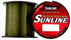 Sunline Super Natural 40 lb x 3300 yd Green *** Visit the image link more details.
