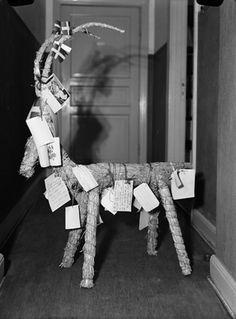 Der skandinavische Julbock in seinen Brauchtumsvarianten - kleine Galerie historischer Bilder - Brauchtum und Feste - Eldaring e.V. Asatru - gelebtes germanisches Heidentum