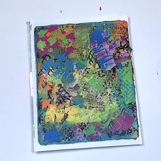 How can you make fused layers on your gel plate? Find out in Mastering the Layers an online gel printing workshop with Carolyn Dube Art Journal Pages, Art Journals, Pop Art, Paper Collage Art, Gelli Plate Printing, Gelli Arts, Collage Techniques, Ecole Art, Funky Art