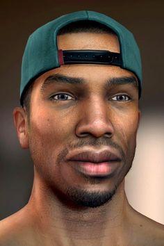 San Andreas, Carl Johnson, Gta Online, Grand Theft Auto, Gta 5, 3d Design, Video Game, Sick, Games