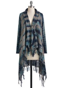 Simply Tie Dye For Cardigan, #ModCloth    All my favorite colors and a style that flows