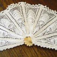Crochet fan