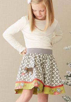 Matilda Jane pretty kitty skirt