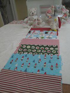 BN Brilliant Bundle of 5 Moda Robert Kaufman Tilda Etc  Christmas Designs