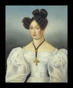 Portrait of a lady by Antoine Plamondon