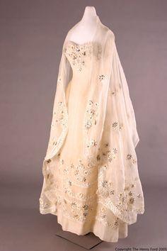 1955 Dior Dress w/Stole