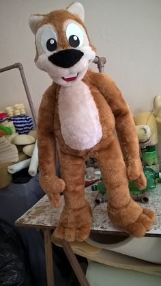 The Squirrel by Bruno Soares (Brunokids Professional Puppets)