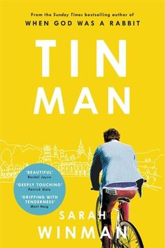 LOVING THIS BOOK COVER | Tin Man by Sarah Winman | Simple, minimal BUT powerful