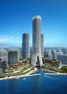 Tameer Towers ~ Abu Dhabi, United Arab Emirates