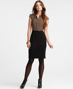 Fall work clothes. - Click image to find more Women's Fashion Pinterest pins