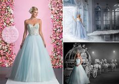 Wear a Blue Wedding Dress  The colour blue is traditionally associated with purity so Irish brides would choose this meaningful hue for their wedding day. If you love the idea of a blue wedding dress then Ellis Bridals and Alfred Angelo have some gorgeous options.