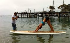10 Webisodes to Make Your SUP Yoga Even Better Sup Yoga, Paddleboarding, Inner Peace, Stand Up, Wellness, Community, Poses, Health, Fitness