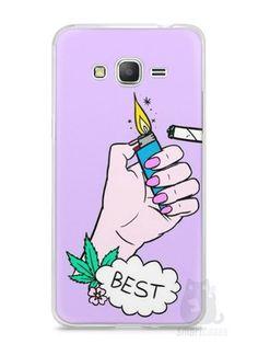 Capa Samsung Gran Prime Melhores Amigos Fumando