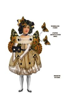 paper Doll Puppet fairy tale land DIY with butterflies Fairy woodland Printable Paper Dolls Printable, Butterfly Fairy, Mermaid Dolls, Love Fairy, Woodland Fairy, Doll Crafts, Paper Toys, Collage Sheet, Preschool Crafts