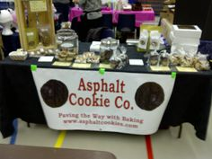 My table at the Lindsay Cadets Craft Sale