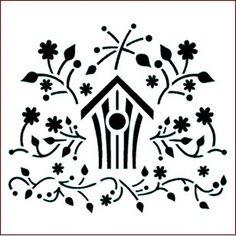 Folk Bird House