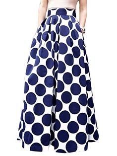 Choies Women's White Contrast Polka Dot Print Maxi Skirt ... https://www.amazon.com/dp/B015XI8GL8/ref=cm_sw_r_pi_dp_x_ROHmybF2NCASQ