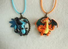 These are so awesome! :D  Pokemon Jewelry Necklaces