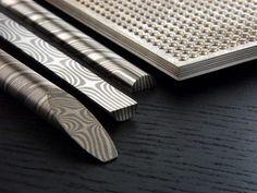 Mokume gane Billet patterns