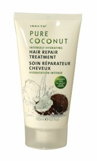 Inecto Pure Coconut Hair Repair Treatment 150ml Inecto Pure Coconut Hair Repair Treatment 150ml Intensely Hydrating Restores Moisture & Adds Shine. Contains 100% pure coconut to instantly hydrate and nourish dry damaged hair