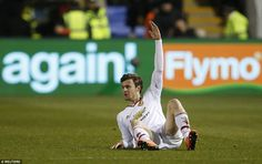 Will Keane's bad injury luck continued after hurting his groin just minutes after coming following an effort which hit the post