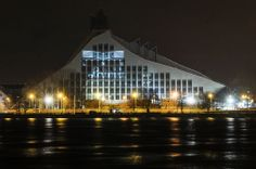 National Library of Latvia Riga Latvia, Libraries, Building, Travel, Culture, Heart, Voyage, Buildings, Viajes