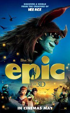 "Movie Poster Teaser ""Epic (2013)"""