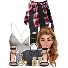 A fashion look from February 2015 featuring H&M tops, Givenchy handbags and River Island earrings. Browse and shop related looks.