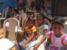 our little friends in India