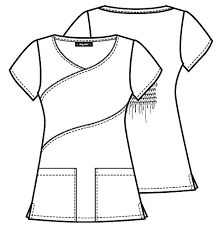 Resultado de imagen para scrubs uniforms Scrubs Pattern, Suit Pattern, Scrubs Outfit, Scrubs Uniform, Custom Scrubs, Fashion Figure Drawing, Plus Sise, Medical Scrubs, Easy Sewing Patterns