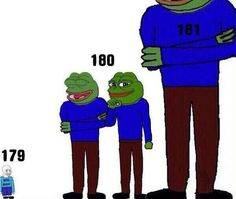 How some girls see boys height