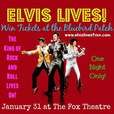 Win Tickets For Elvis Lives January 31 Premiere at the Fox Theatre | The Bluebird Patch