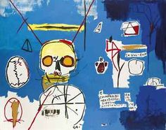 Jean-Michel Basquiat (American, Untitled (Skull B), Acrylic and silkscreen ink on canvas, x cm. Jm Basquiat, Graffiti Art, Jean Michel Basquiat Art, Neo Expressionism, Art Auction, Poster Wall, Wrapped Canvas, Jeans, Drawing Techniques