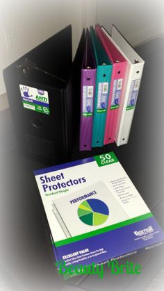 Samsill Binders and Sheet Protectors