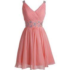 Fashion Plaza Short Straps Bridesmaid Dresses Pleated Beading Belt... ($40) ❤ liked on Polyvore featuring dresses, red dress, red bridesmaid dresses, short dresses, beaded bridesmaid dresses und red prom dresses