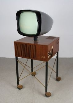 1956 Phonola Fernseher Television, Model 1718