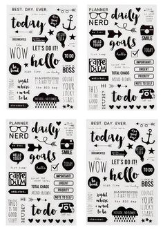 Simple Stories SNAP Carpe Diem Clear Stickers