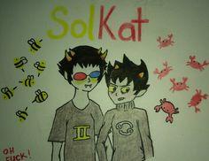 @NegaTeenWarhead : SolKat - original doodle