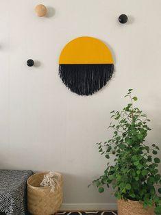 Sol | Handmade Fiber wall art | Contemporary wall art | Wall hanging | Fiber canvas | Wall Tapestry | Fabric wall art | Modern fiber art