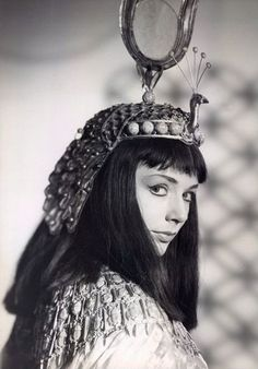 Piper Laurie in General Electric Theater's Caesar and Cleopatra (April 12, 1959, CBS)