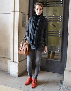 Mode street style femmes paris