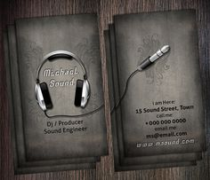 15 Cool DJ Business Cards 5