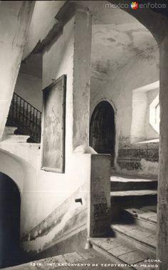 Interior del Ex Convento de Tepotzotlán