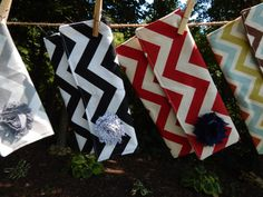 Chevron Clutch for that special occasion by threeKdesigns on Etsy, $25.00