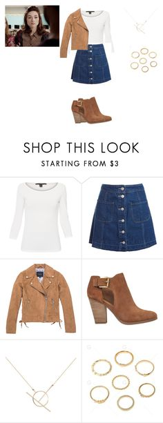 """Allison Argent Outfit"" by zoegeorgiou2001 on Polyvore featuring Weekend Max Mara, Sans Souci, Marc New York, MICHAEL Michael Kors and A Weathered Penny"