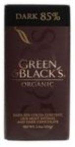 Green Black Dark Chocolate Box