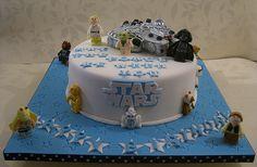 Star Wars Birthday Cake by Rebecca's Tastebuds, via Flickr